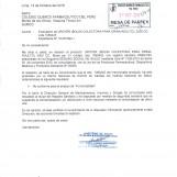 OFICIO CIRCULAR N° 4165 – 2016-DIGEMID-DDMP/MINSA